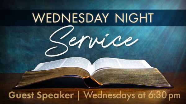 Series: Guest Speakers - Wednesday
