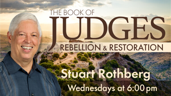 Judges 21:1-25 Not the End of the Story (Stuart Rothberg)
