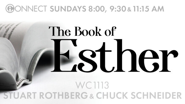 Esther: The Providence of God (Chuck Schneider)