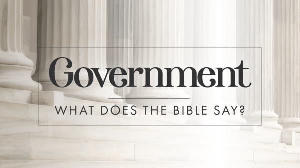 What Will Government Under God Look Like? (Stuart Rothberg)